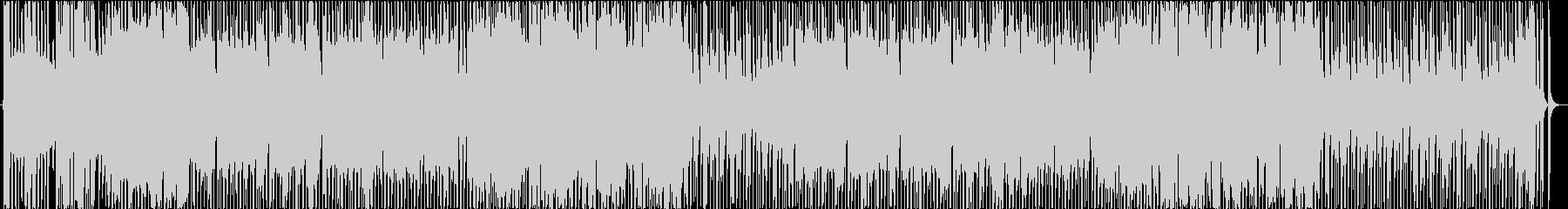 ポップで広がりのあるピコピコBGMの未再生の波形