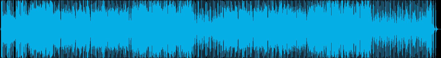 ポップで広がりのあるピコピコBGMの再生済みの波形