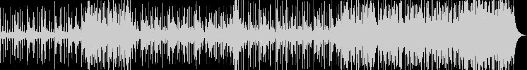 鼓動を表現した躍動感溢れる和太鼓BGMの未再生の波形