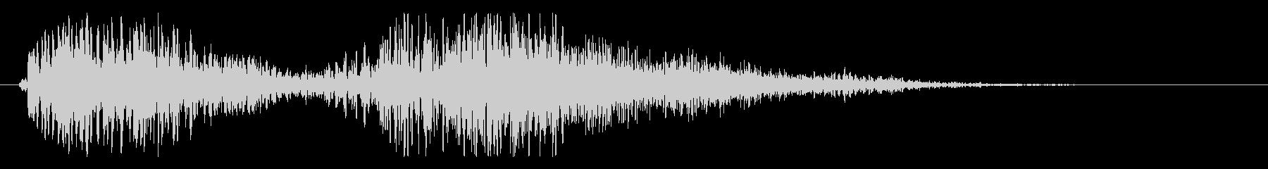 ヘビーメタルインパクトの未再生の波形