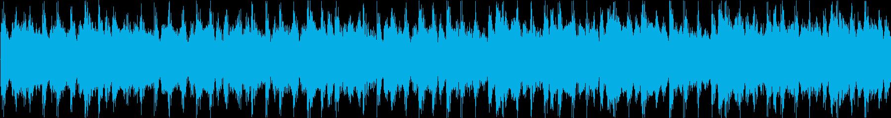 メニュー画面等のイメージ 明るめ ルー…の再生済みの波形