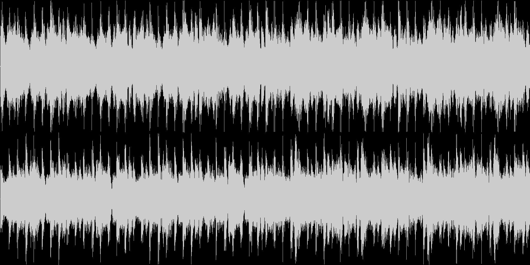 メニュー画面等のイメージ 明るめ ルー…の未再生の波形