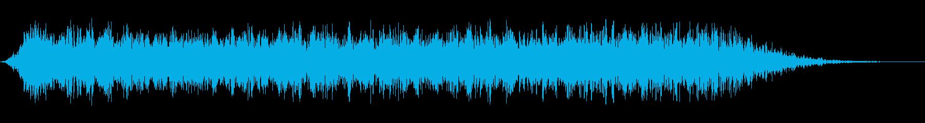 悪魔のうなり声4の再生済みの波形