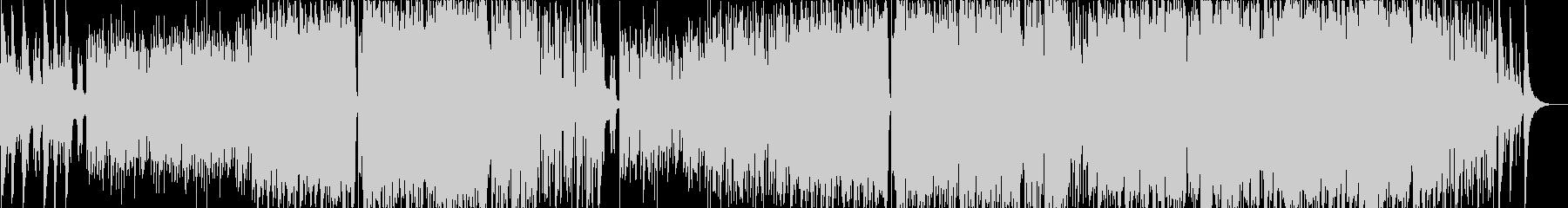 オーケストラ風の感動的バラードインストの未再生の波形