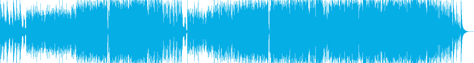 オーケストラ風の感動的バラードインストの再生済みの波形