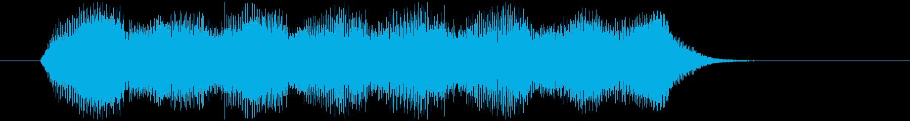 ゲームオーバー・絶望【オルガン】1の再生済みの波形