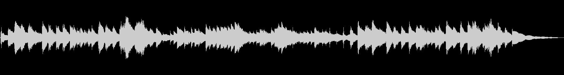 スイスのオルゴール:演奏の未再生の波形