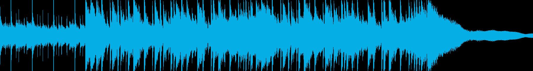 オシャレでどこなく落ち着くスローポップの再生済みの波形