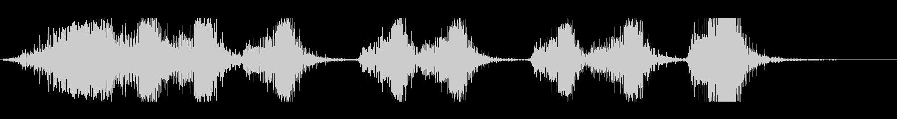 複数矢印矢印、ウッドインパクト、ス...の未再生の波形