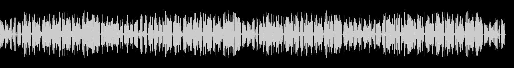 ピアノとリコーダーのほのぼの軽快な曲の未再生の波形