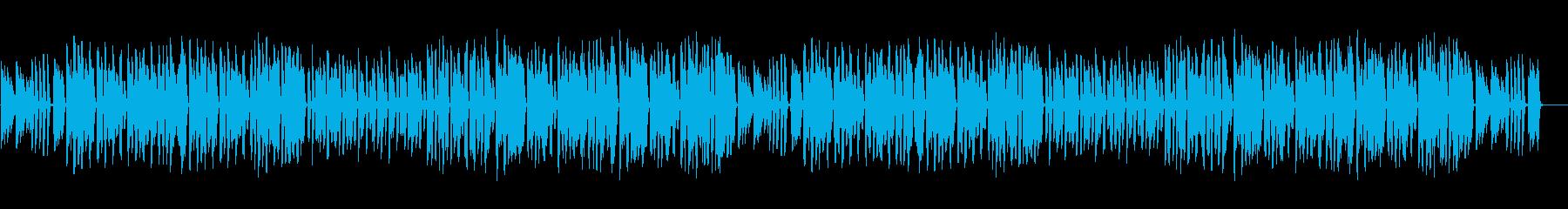 ピアノとリコーダーのほのぼの軽快な曲の再生済みの波形