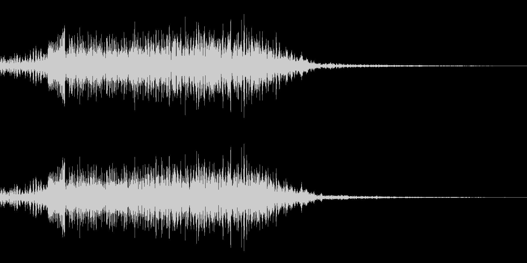 鳴き声02(イノシシ、ブタ系)の未再生の波形