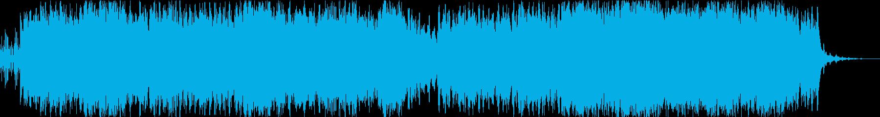 ハワイの海の伝説 ウクレレ 壮大な歌 の再生済みの波形