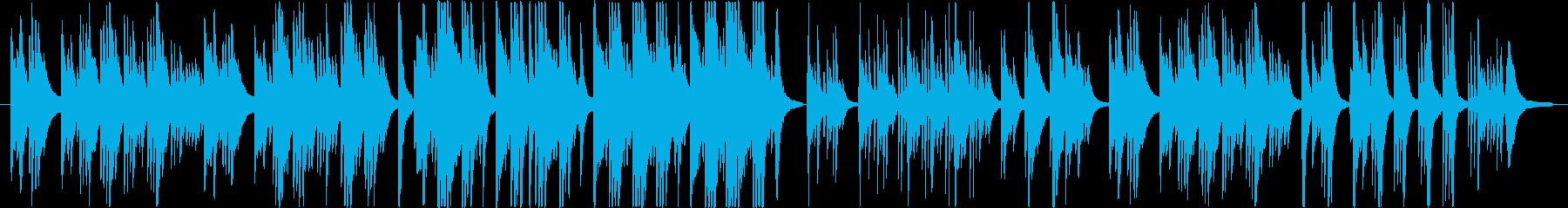 ドラマチックで切ないピアノ・バラードの再生済みの波形