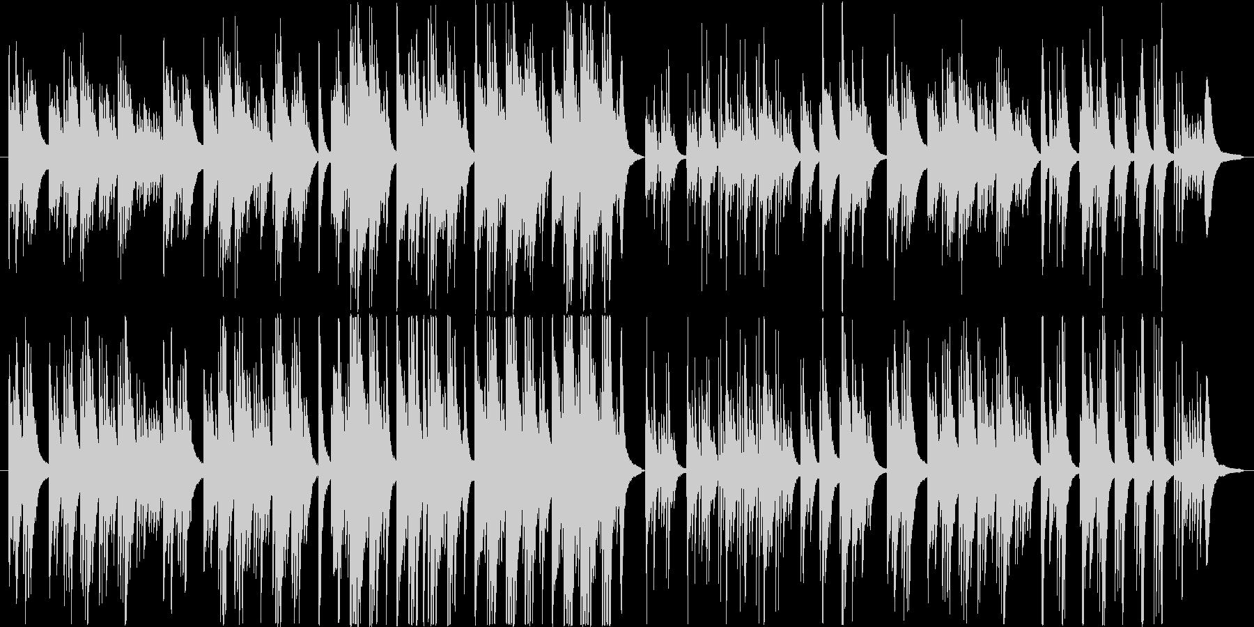 ドラマチックで切ないピアノ・バラードの未再生の波形
