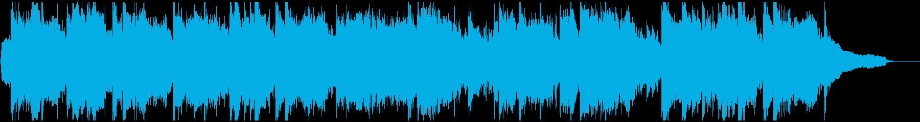 壮大で大河ドラマ的な和風曲 ※60秒版の再生済みの波形