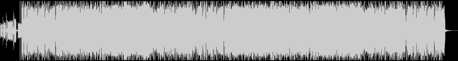 スロー/ミドルテンポのギターロックの未再生の波形