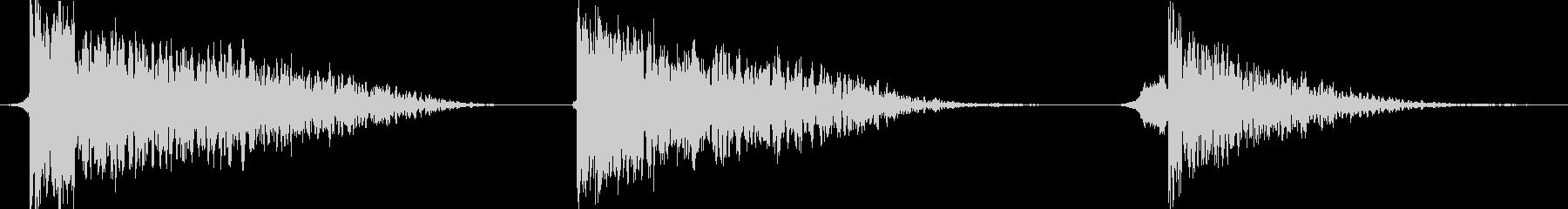 火 スペルファイアインパクトラージ01の未再生の波形
