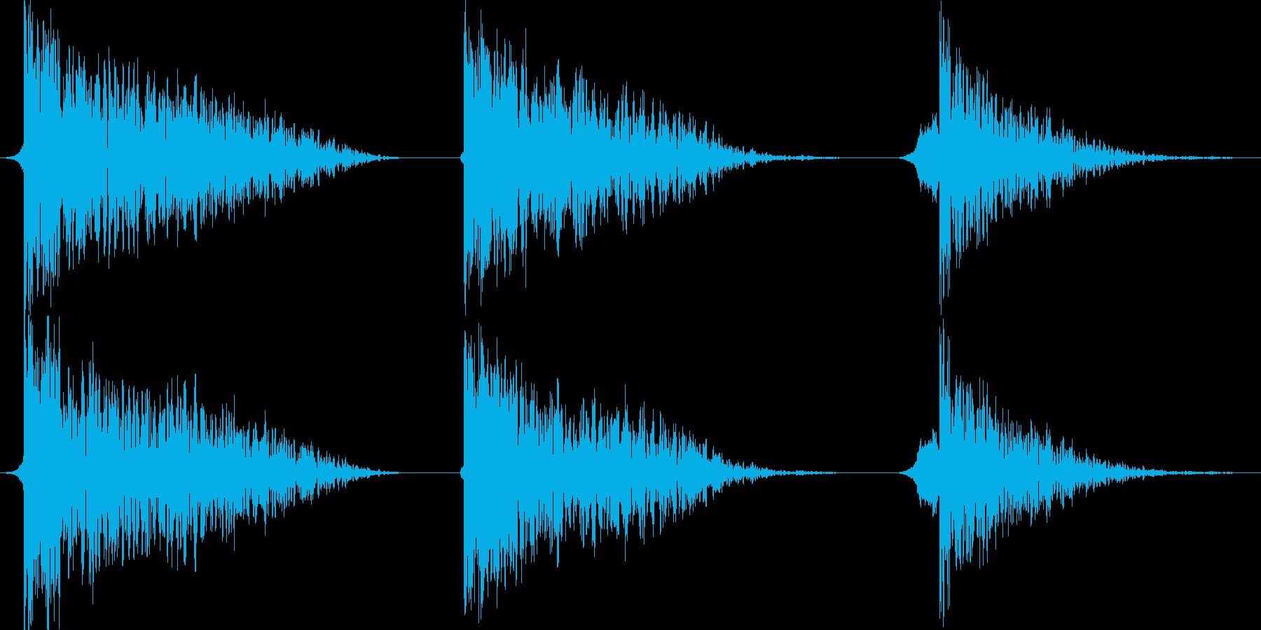 火 スペルファイアインパクトラージ01の再生済みの波形