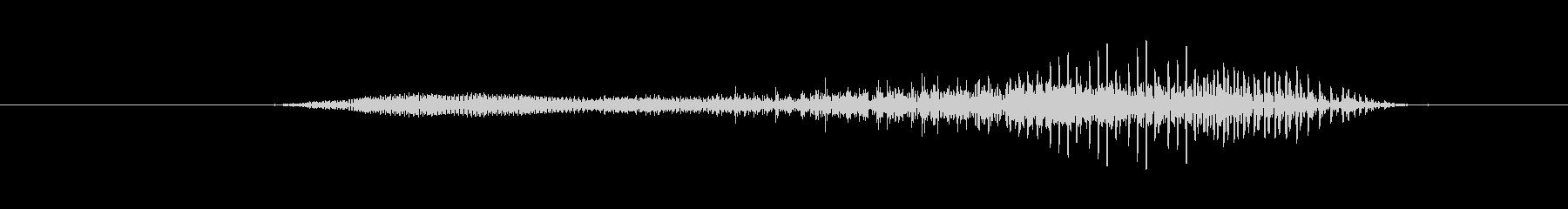 鳴き声 男性の攻撃シャウトロング06の未再生の波形