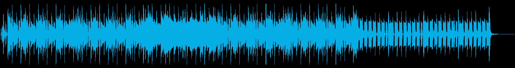 渋めのロックテイストなテクスチャーの再生済みの波形