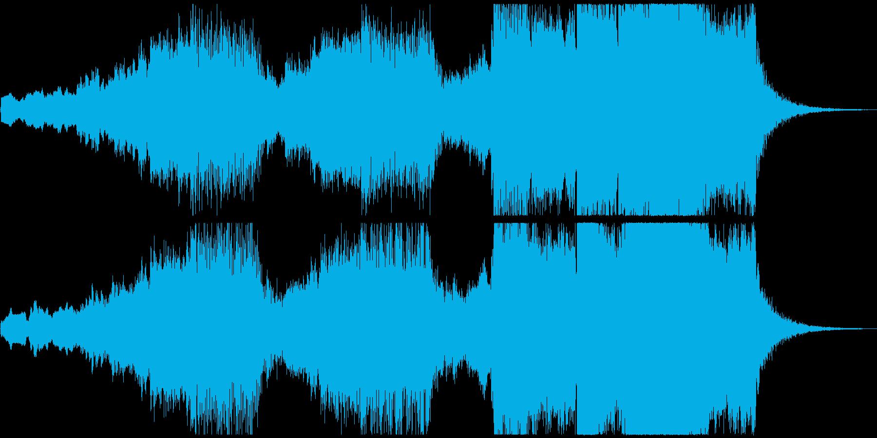 宇宙的な『ツァラトゥストラはかく語りき』の再生済みの波形