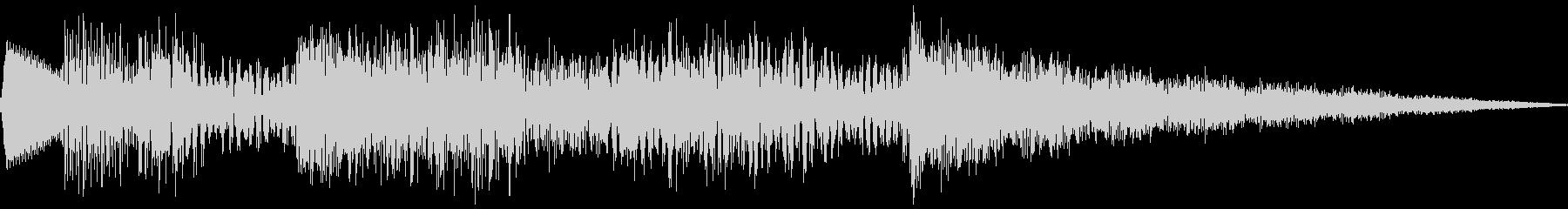 タンブリングノートロゴの未再生の波形