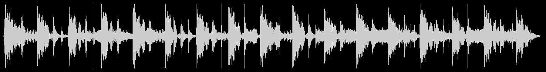 ベース生演奏のクールスラップジングル03の未再生の波形
