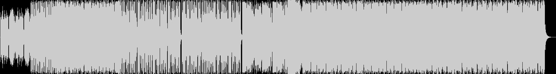 民族楽器が印象的なEDMの未再生の波形