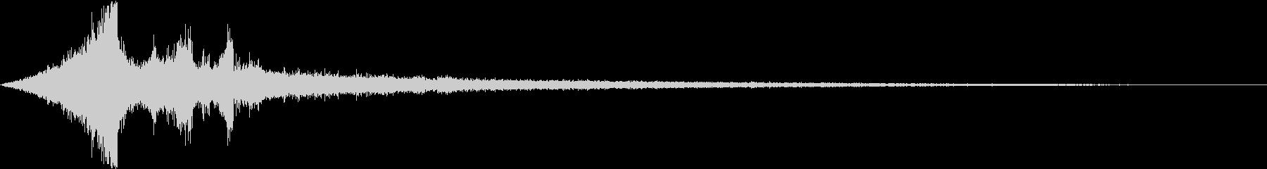 【シーン切替】ダークシネマサウンド_03の未再生の波形
