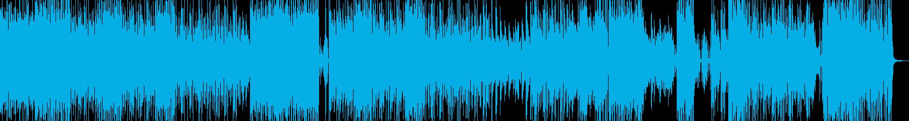 高揚感・ギャグ・バラエティテクノ  Bの再生済みの波形