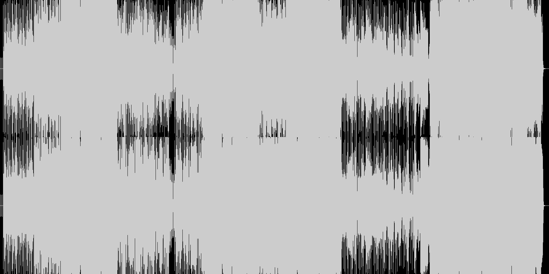パワフルなラブシーソーの未再生の波形