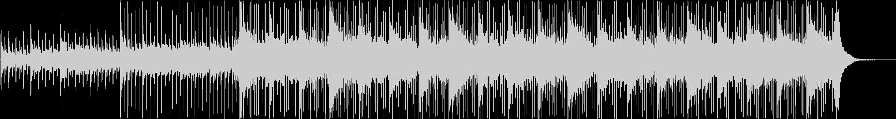 ピアノ、ストリングス、エレキギター...の未再生の波形