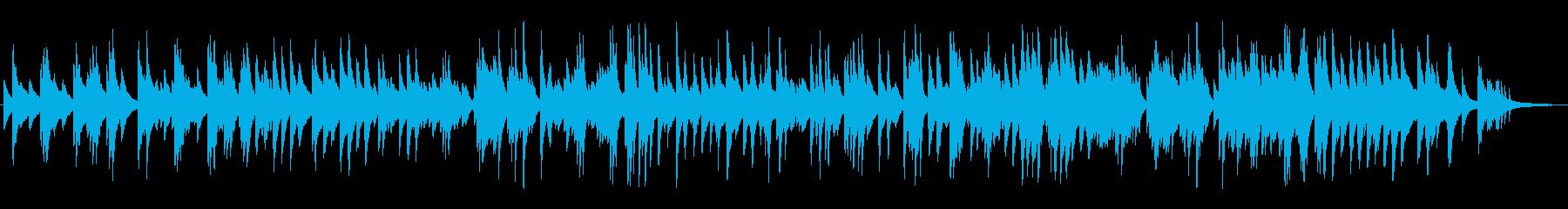 懐かしい曲のジャズラウンジピアノソロの再生済みの波形