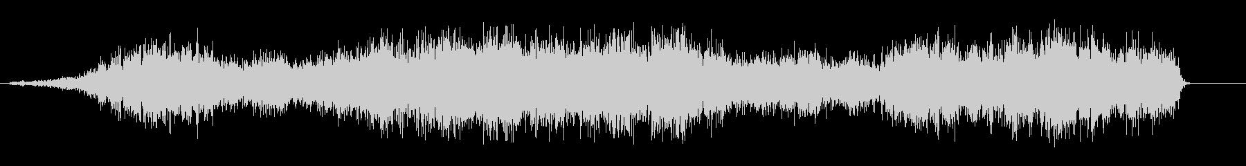 シュルルル(回転音)の未再生の波形
