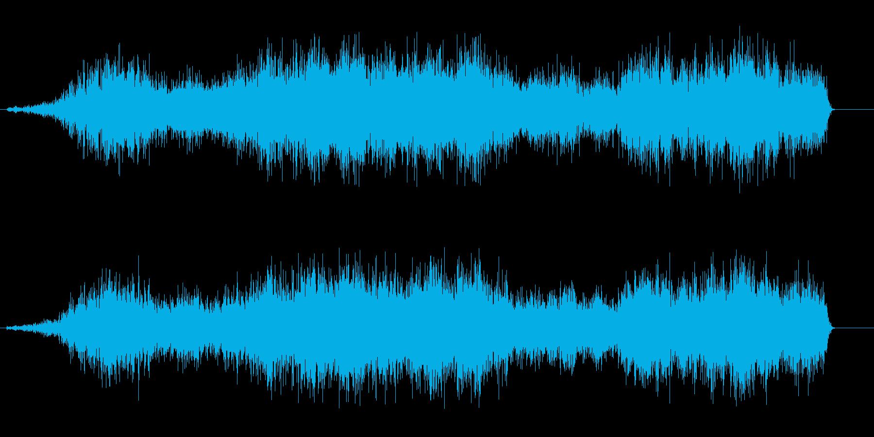 シュルルル(回転音)の再生済みの波形