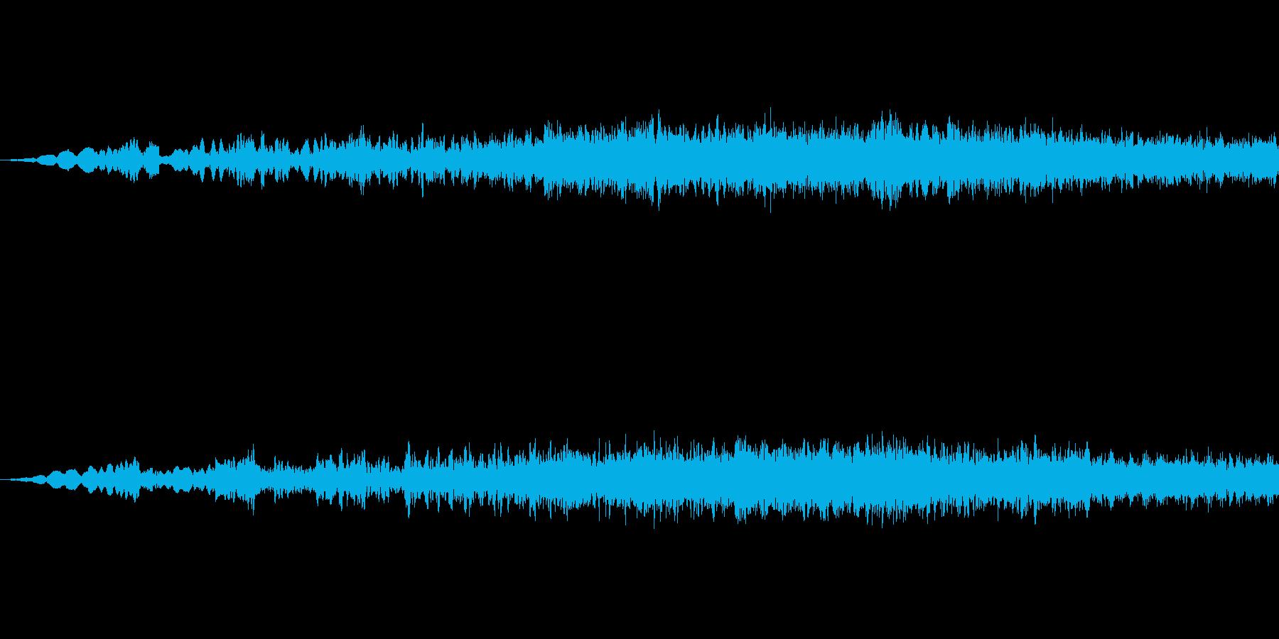 SFっぽい音その1です。「ヒューン」の再生済みの波形