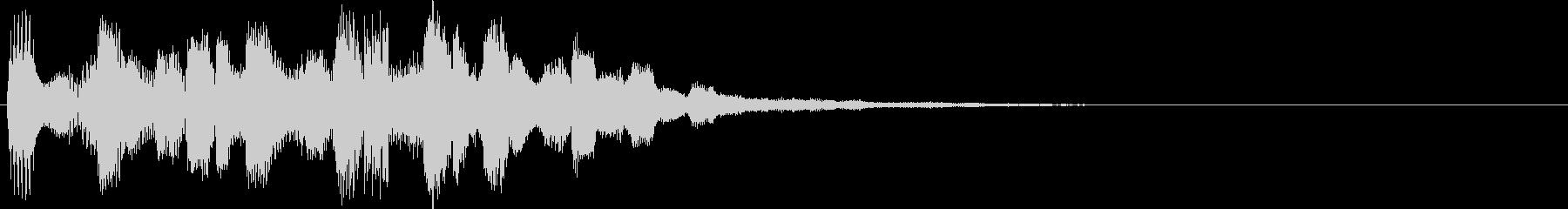 ズンズタランズチャキララ(アイキャッチ)の未再生の波形