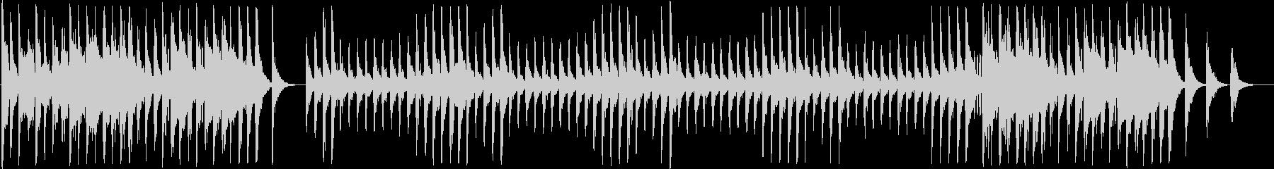 ストーリー系のインフォメーション曲の未再生の波形