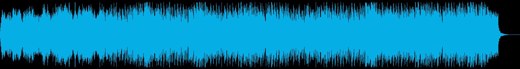感動系・エンディングに最適なBGMの再生済みの波形