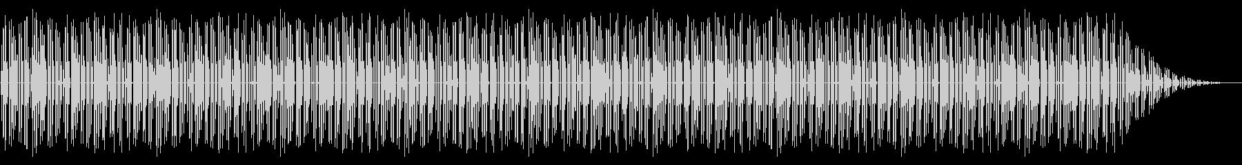 GB風パズル・カードゲームのステージ曲の未再生の波形