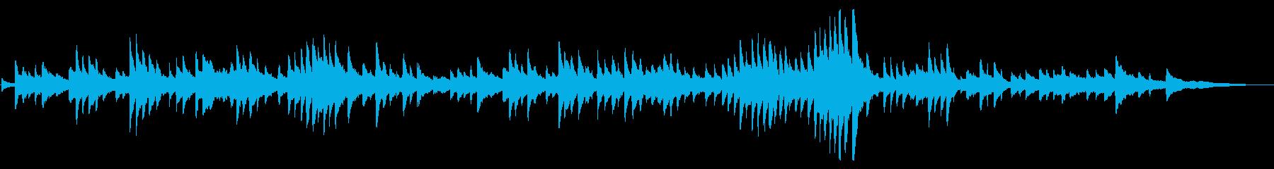 ショパン「別れの曲」ピアノソロ曲の再生済みの波形