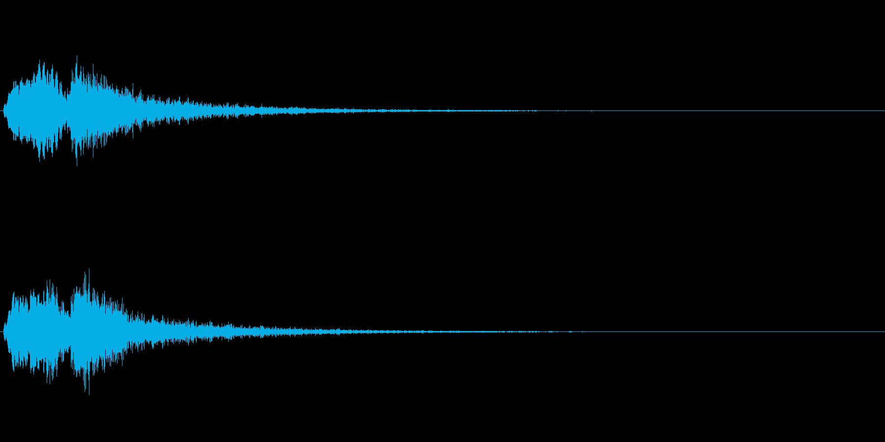Vox 不気味な鳴き声 ホラーSE 3の再生済みの波形