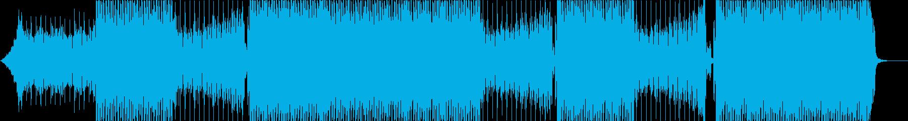 洋楽、パーティーEDM、K-POP♫の再生済みの波形