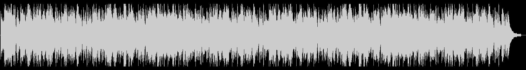 ピアノソロ スロウで重いブルースの未再生の波形