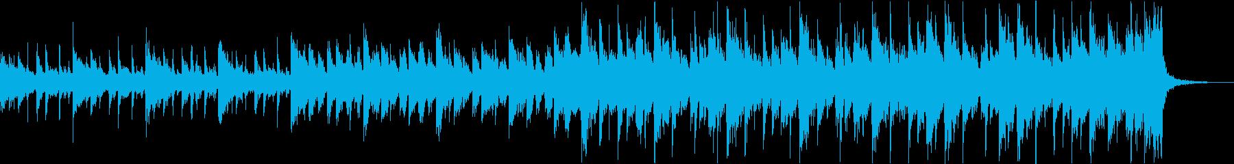 壮大シネマティックエピックトレーラーcの再生済みの波形