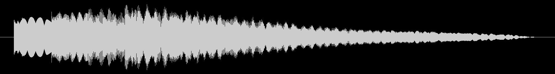 ジングル ベルメロディーハッピー01の未再生の波形