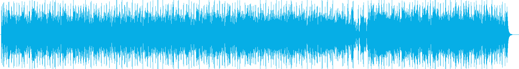 明るく爽やかなシンセサイザーサウンドの再生済みの波形