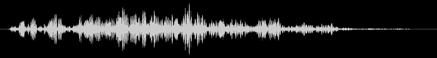 スライムなどが蠢く音タイプC#2の未再生の波形