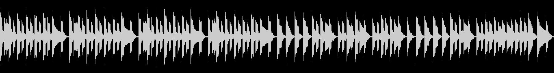 マップ画面・ロボット部屋・ループシンセの未再生の波形